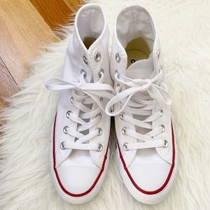 BRAND NEW Converse White High Tops Tennis Shoes